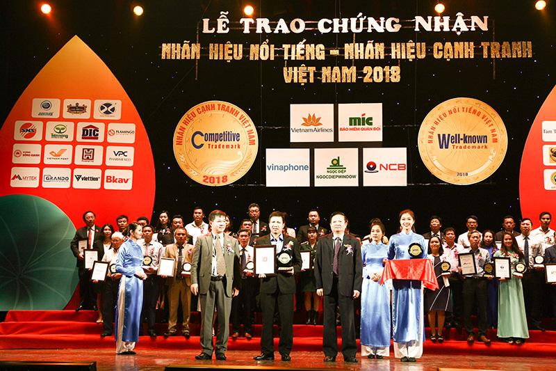 """PERFETTO đạt danh hiệu """"top 50 nhãn hiệu nổi tiếng Việt Nam 2018"""""""